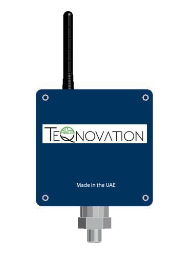 TeQnovation Lorawan Piezo resistive industrial pressure meter